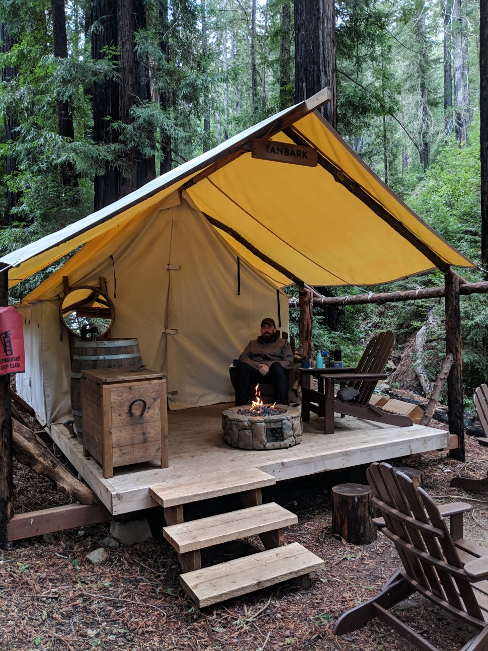 Tanbark G7 Glamping at Ventana Big Sur